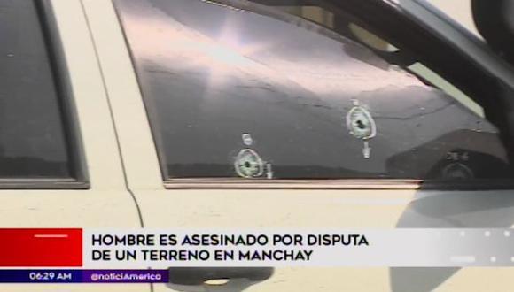 Siete sujetos llegaron a bordo de una camioneta hasta la Asociación Ampliación Los Cedros en Manchay.
