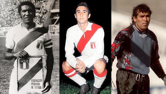 Julio Meléndez, Percy Rojas y Miguel Miranda: tres peruanos imbatibles ante la selección chilena. (Foto: Archivo Histórico GEC).