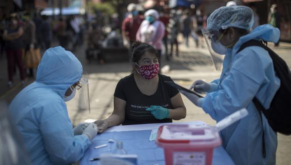La cantidad de pacientes recuperados aumentó este domingo. (Foto: Anthony Niño de Guzmán/GEC)