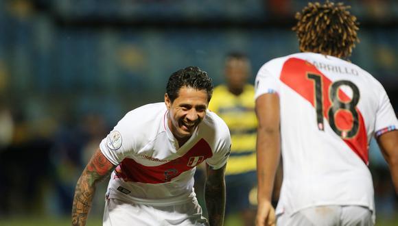 Gianluca Lapadula y André Carrillo son los goleadores de Perú en la Copa América 2021 con dos goles oficiales cada uno   Foto: REUTERS