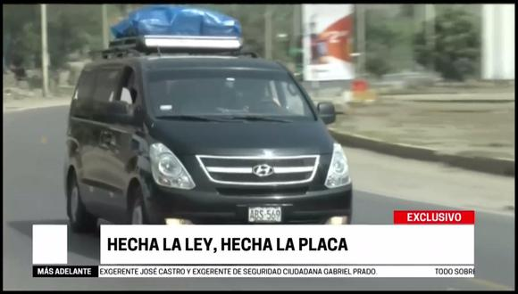 El transporte informal corre impune por las carreteras peruanas. (Captura: Cuarto Poder)