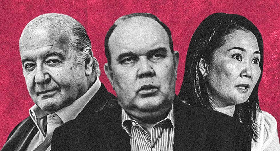 Una revisión de los planes de gobierno y recientes declaraciones de Rafael López Aliaga, Keiko Fujimori y Hernando de Soto, muestra más similitudes que diferencias. (Ilustración: El Comercio)