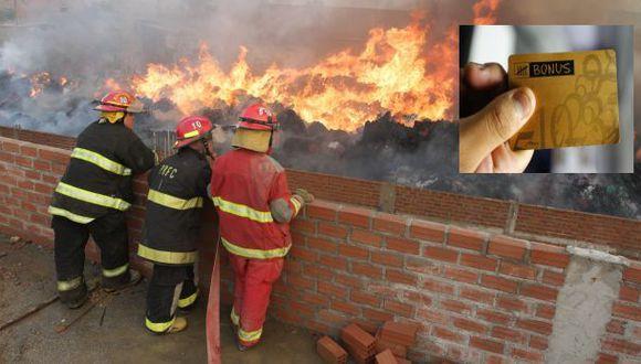 Bonus inicia campaña de donación de puntos a favor de bomberos