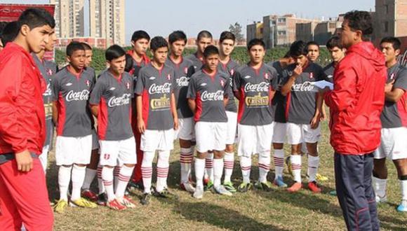 Sub 17: Perú cayó 4-1 ante Uruguay en partido amistoso
