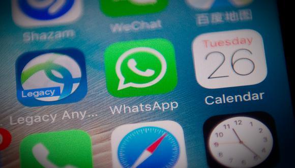 La estafa está siendo compartido por la aplicación de mensajería WhatsApp. (Foto: NICOLAS ASFOURI / AFP)