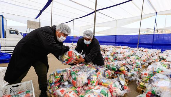 La comuna de San Juan de Lurigancho hará la entrega de los alimentos de forma progresiva y ordenada en el Polideportivo Monteverde, ubicado en el A. H Monte Negro, desde el martes 2 hasta el sábado 6 de marzo. (Foto: Municipalidad de SJL)
