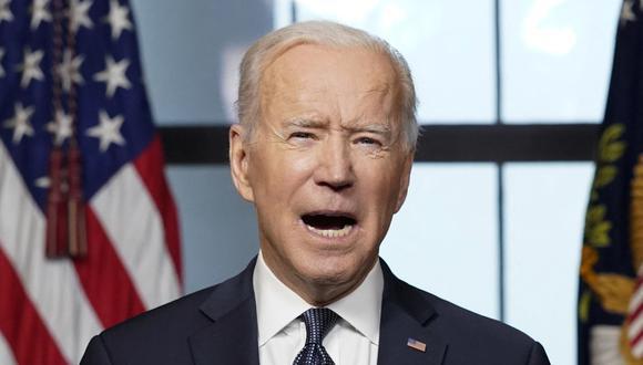 Joe Biden emite sanciones contra Rusia en represalia por ciberespionaje e injerencia en las elecciones del 2020. (Andrew Harnik / POOL / AFP).