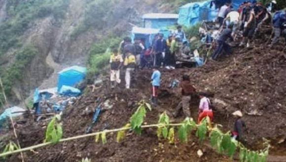 Puno: hallan tres últimos cuerpos que desaparecieron tras caída de huaico