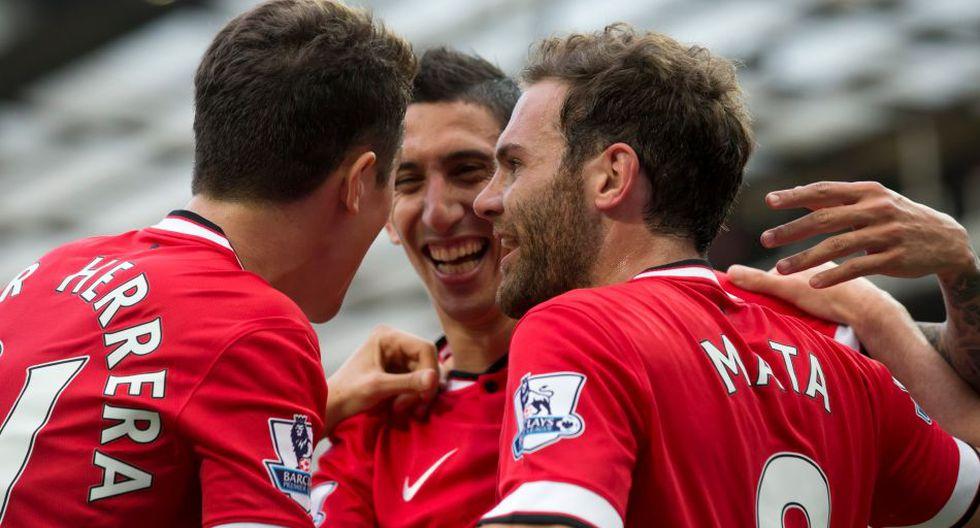 Falcao y Di María debutan en Old Trafford con una goleada - 6