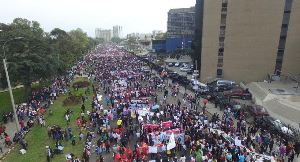 #NiUnaMenos: así se desarrolló la marcha en Lima [FOTOS] - 18