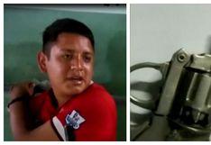 La Victoria: detienen a sujeto que amenazó a serenos con pistola de juguete   VIDEO