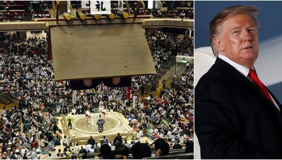 El primer ministro de Japón, Shinzo Abe, está muy interesado en que Donald Trump y su esposa, Melania, asistan a un torneo el 26 de mayo, durante su visita oficial al país asiático. (AP/Reuters)