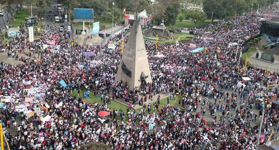 #NiUnaMenos: así se desarrolló la marcha en Lima [FOTOS] - 2