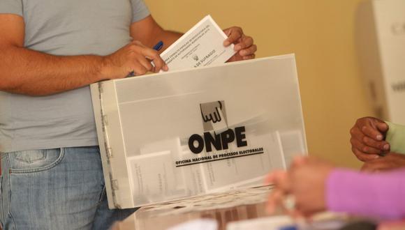 La ONPE anunció cuáles serán las multas para quienes no asistan el día de la votación. (Foto: Josue Ramos Champi/GEC)