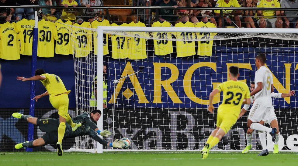 Real Madrid vs. Villarreal: mejores imágenes del partido. (Foto: AFP)