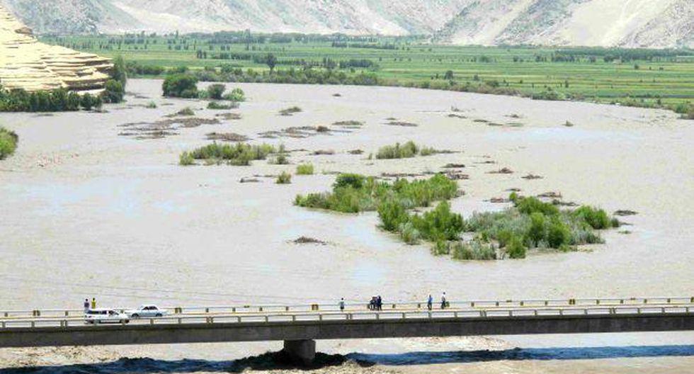 Arequipa: río Camaná permanece en alerta roja