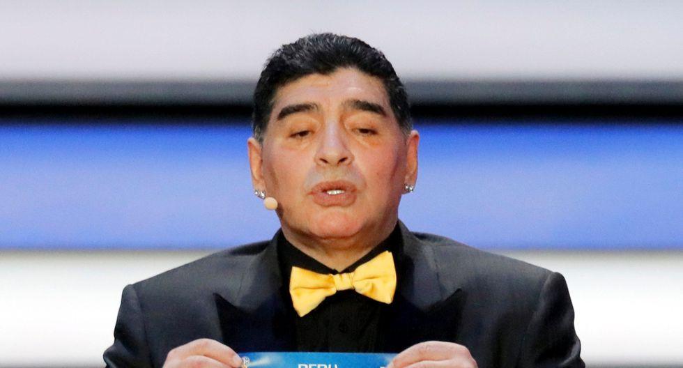 Diego Maradona habló sobre la selección peruana y el duelo ante Francia en el Mundial de Rusia 2018. (Foto: EFE)