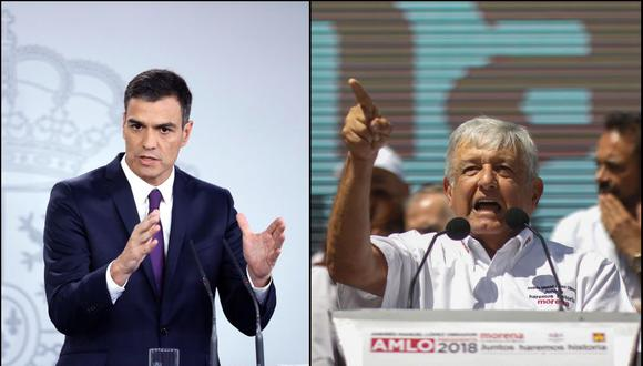 El presidente de México, Andrés Manuel López Obrador, solicitó al reyFelipe VI de España que pida perdón a los pueblos originarios por la conquista española. (Foto: EFE)