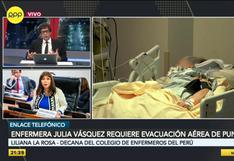 Decana Liliana La Rosa: 90 enfermeras han fallecido, más de 7.700 se han contagiado y 15 están en UCI por el COVID-19