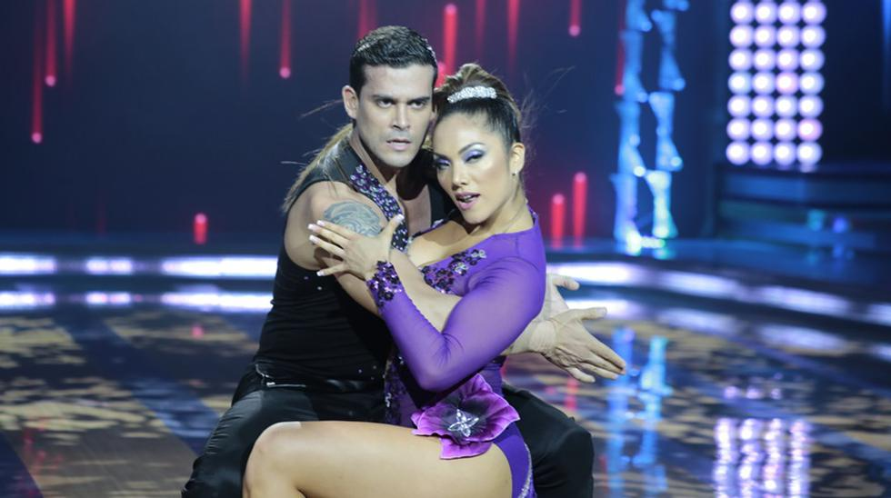 """El apasionado baile de Christian e Isabel en """"El gran show"""" - 1"""