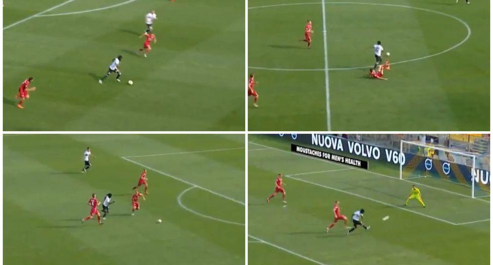 YouTube: ¡Denle el Puskas a este golazo! Gervinho anotó espectacular tanto 'messiánico'   VIDEO. (Foto: Captura de pantalla)