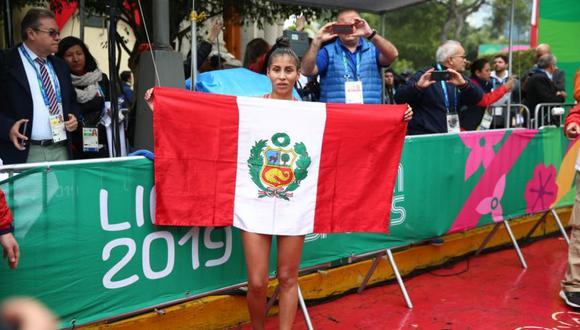 Kimberly García le dio una medalla de plata al Team Perú en Lima 2019. (Foto: Giancarlo Ávila - GEC)