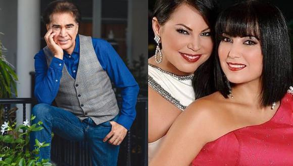Liliana y Lilibeth Rodríguez son fruto del primer matrimonio de 'El Puma' con la actriz y cantante Lila Morillo (Foto: IG José Luis Rodríguez/ IG Liliana Morillo)