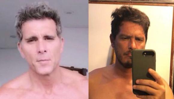 Cristian Rivero a la derecha y Christian Meier a la derecha. (Foto: Facebook)