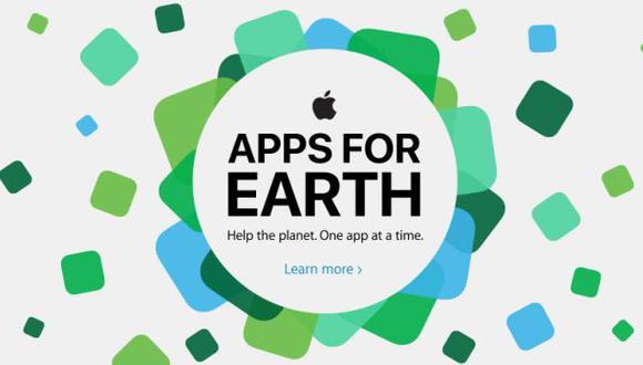 Apple se une a campaña por el medio ambiente