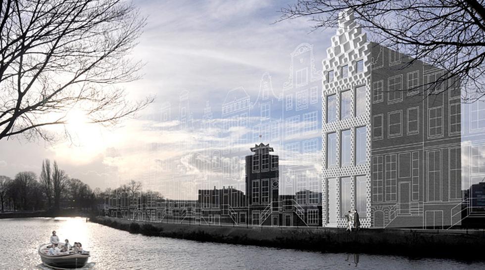 Vivir en ficción: Mira la primera casa impresa en 3D del mundo - 1