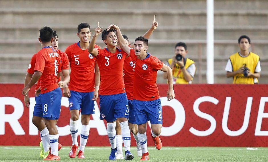 Chile goleó a Venezuela y quedó a un paso de clasificar al hexagonal final del Sudamericano Sub 17. (Foto: Francisco Neyra)