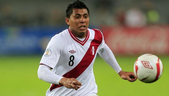Rinaldo Cruzado pidió permiso a su club y jugará ante Panamá