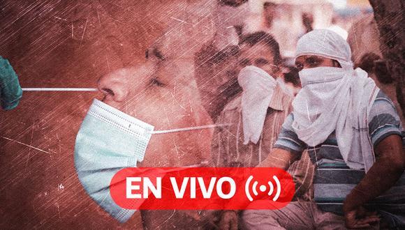 Coronavirus EN VIVO en el mundo | Sigue aquí EN DIRECTO las últimas noticias y conoce las cifras actualizadas de la pandemia COVID-19 en todo el mundo, HOY domingo 5 de octubre de 2020. (Foto: Diseño El Comercio)
