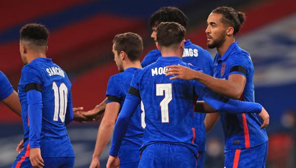 Inglaterra goleó 3-0 a Irlanda en Wembley por amistoso de la fecha FIFA. (Foto: AFP)