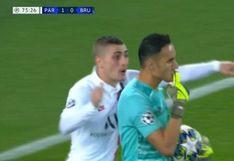 PSG vs. Brujas: Keylor Navas atajó penal y evitó el empate de los belgas | VIDEO
