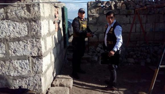 Arequipa: mecánico asesinó a ladrillazos a su conviviente