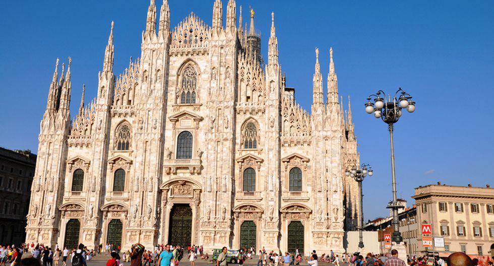 La catedral de Milán, Italia. (Foto: deepakhere.mypixels / Flickr)
