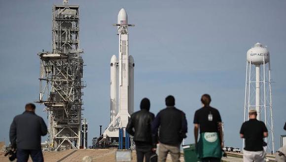 Lanzamientos de cohetes en Estados Unidos (Foto: Agencia EFE/referencial)