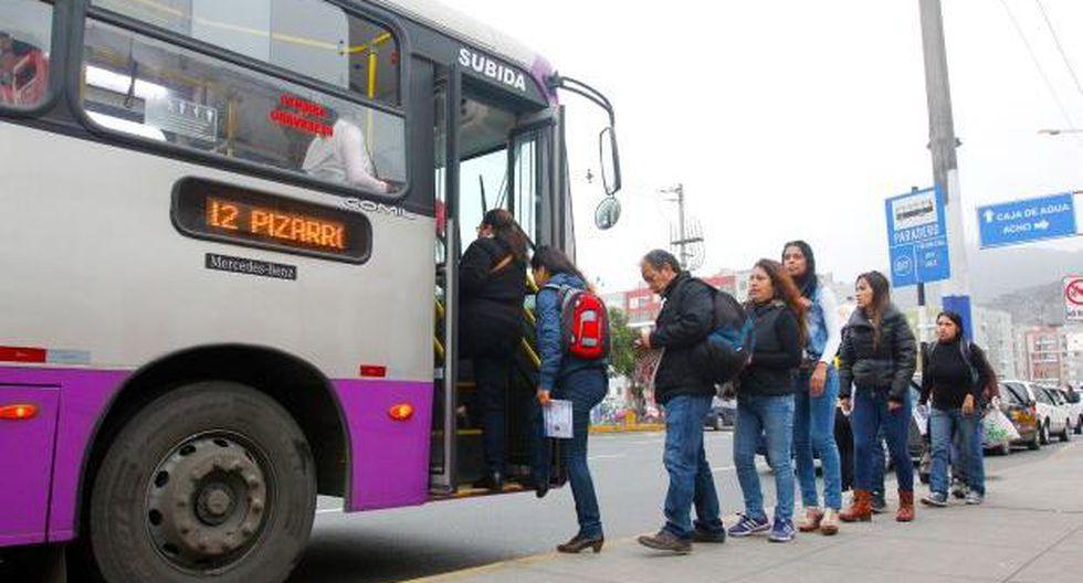 Corredor SJL: buses llegarán hasta la Av. Tacna desde mañana