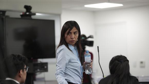 Giulliana Loza, abogada de Keiko Fujimori, dijo que José Domingo Pérez busca inmiscuirse en el proceso electoral. (Foto: Archivo El Comercio)