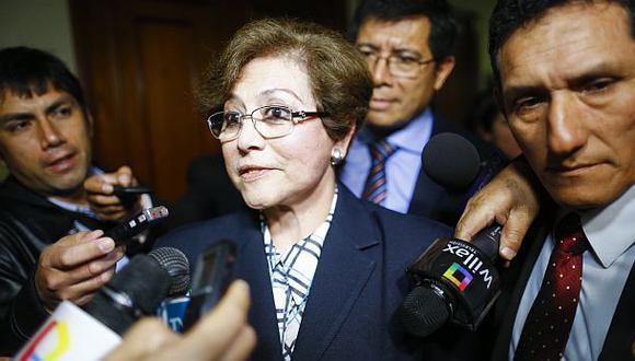Echaíz criticó a fiscal Ramos Heredia por vetarla para elección