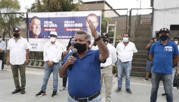 César Acuña inició su 'Cruzada por el Perú' en la ciudad de Trujillo   Foto: El Comercio / Referencial