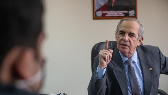 Parlamentario de APP dice que esperaba del último mensaje a la Nación que el presidente Castillo anunciara cambios en su gabinete de ministros.  (Foto: Jorge Cerdán/ GEC)