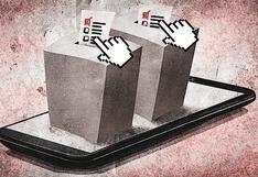 Elecciones 2021: No se usará el voto electrónico no presencial en comicios internos
