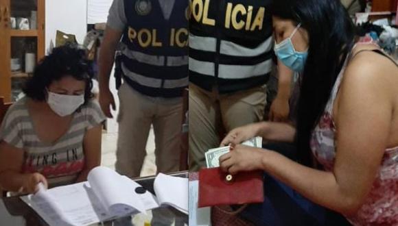 Dos fiscales especializadas en medio ambiente fueron detenidas el 10 de setiembre. Foto: DIVIAC.