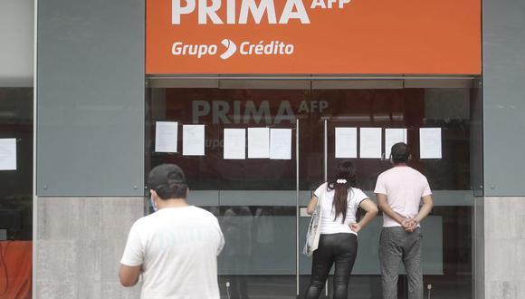 Afiliados de las AFP pueden registrar su solicitud de retiro hasta el próximo 8 de julio. (Foto: Andina)