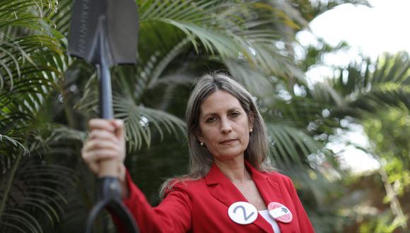 La candidatura de María del Carmen Alva Prieto ya se encuentra inscrita para las próximas Elecciones 2021. (Foto: Anthony Niño de Guzmán / GEC)