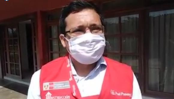Ángel Miguel Pérez Santacruz fue denunciado por agredir físicamente a una comunicadora social. (Foto: captura de Facebook del Gobierno Regional de Lambayeque)