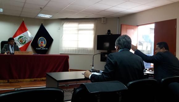 Juez Richard Concepción rechazó pedido para invalidar documentación del Caso Camargo Correa.