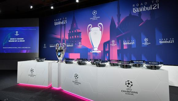 Muy pronto se realizará el sorteo de los cuartos de final de la UEFA Champions League 2020-2021 | Foto: EFE